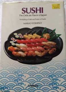 SUSHI The delicate flavor of Japan