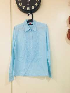 Esprit embroidered longsleeves