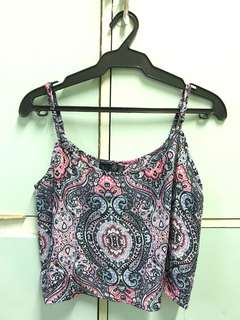 Cotton On Printed Crop Top