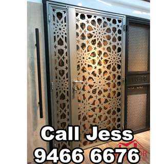 HDDoor the Laser cut gate with install