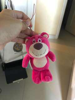 勞蘇公仔 勞蘇吊飾 Toy Story Lotso Bear