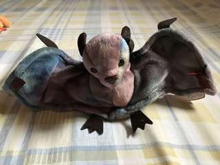 TY The Beanie Babies Collection - Original - Batty 1996