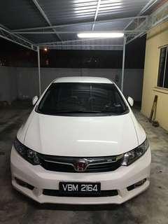 Honda Civic FB 2013 hybrid for sell