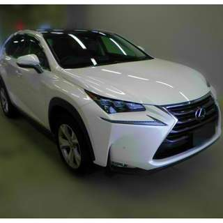 Lexus NX200t 2.0 (A) F-Sport Turbocharged