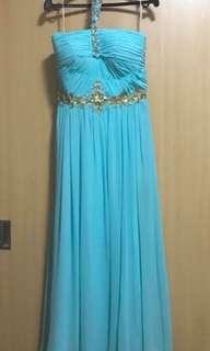Bella blanca prom dress