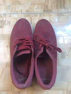 Pull & Bear Sneakers Shoes Size 41 Red