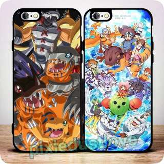 digimon phone casing