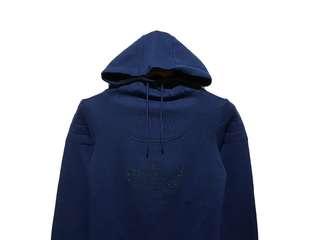 Hoodie Jumper Adidas Trefoil Navy