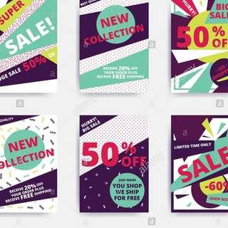 Flyer / Invitation / Poster Prints