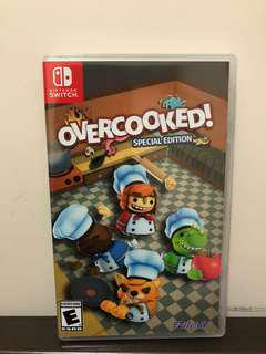 Switch game - Overcooked