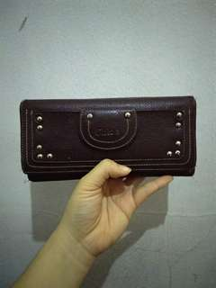 Chloé Brown Leather Wallet