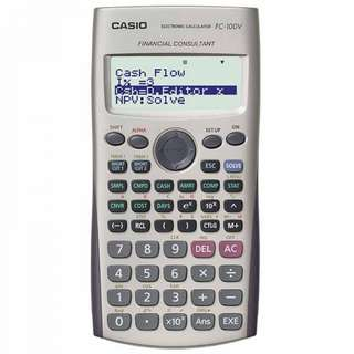Casio Financial Calculator FC-100v