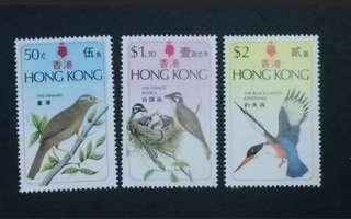 香港鳥類郵票