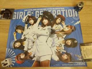 少女時代 GENIE 官方海報 poster snsd