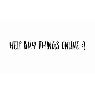 Helping to buy things online / bank transfer