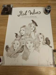 Red Velvet Ice Cream Cake 官方海報 poster snsd