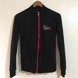 Candie's black jacket with lining