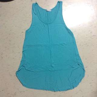 Plus size tee teal