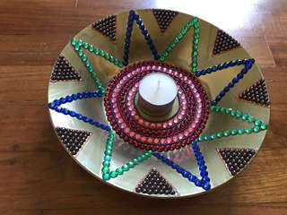 Ceramic plate decor