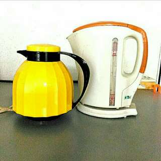 FABER Electric Jug Kettle and Flask combo set