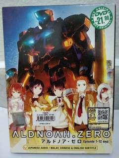 Aldnoah zero season 1 Original DVD(1-12End )+ season 2(1-12End)