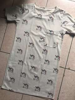 Unicorn Dress (Free Size)🦄
