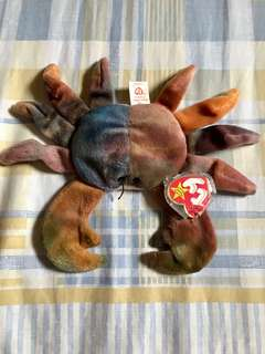 TY The Beanie Babies Collection - Original - Claude - 1996