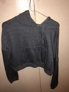 Cotton on cropped hoodie size small