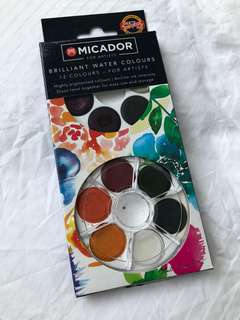 KOH-I-NOOR Brilliant Watercolour Discs