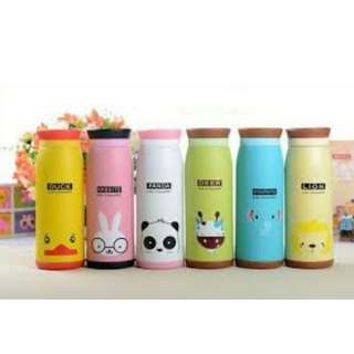 THERMOS AIR KARAKTER ANIMAL LUCU TERMURAH / TERMOS AIR LUCU