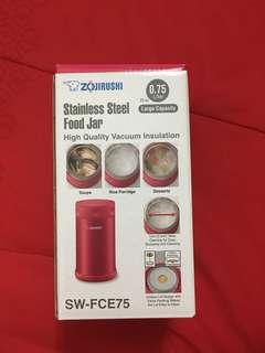 SW-FCE-50 Zojirushi Stainless Steel Vacuum Insulated Food Jar 0.75L