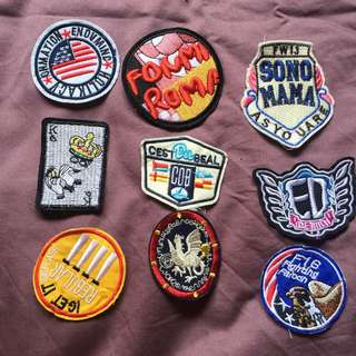 Patch for demin jacket
