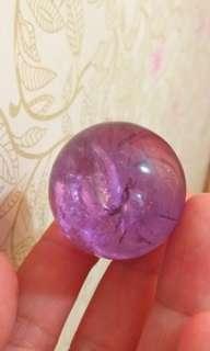 ⭐天然紫晶球(D039)