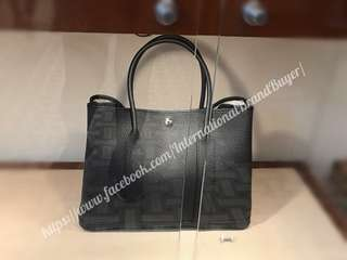 Hermes GP36 in Black with Clemence Leather