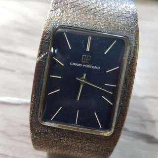 Girard Perregaux Winding Vintage Watch Silver