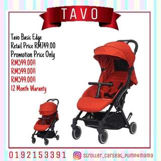 Tavo Basic Edge Stroller
