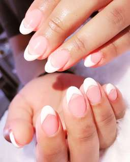 French nail extension home base
