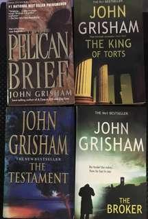 John Grisham 4-Book Bundle