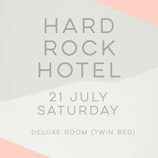 RWS Staycation @ Hard Rock Hotel