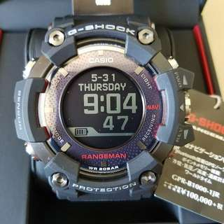 全新Casio G-Shock GPR-B1000-1JR Rangeman 日本版 Full Set