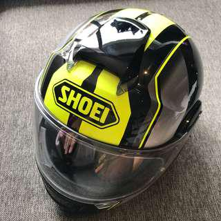 Shoei Neotec Hi-Vis Imminent Yellow (L)