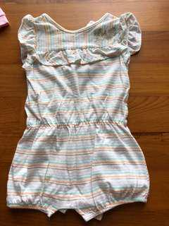 IBaby (cotton on kids) baby girl romper