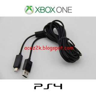 [BN] Xbox One XB1 & PS4 Controller Play & Charge Cable - 2m (Brand New)