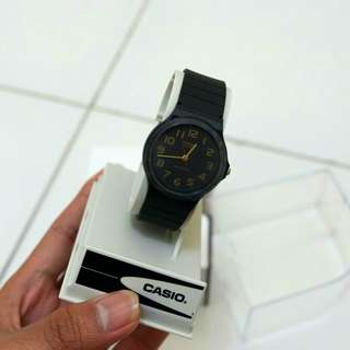 Brand new casio analog watch
