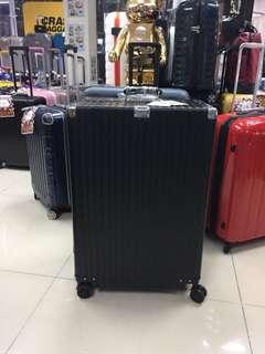 阿豪 美博品牌 旗艦級 鋁鎂合金 限量版 經典 玫瑰金色 26吋 行李箱