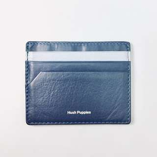 Hush Puppies Blue Faux Leather Card Holder
