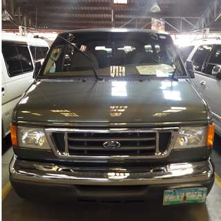 2005 Ford E150 Green AT Low mileage