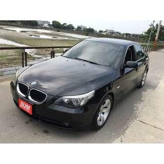 2003 BMW 530I 頭批改款E60 原廠231匹馬力 全額貸 免頭款 0955212607佳融
