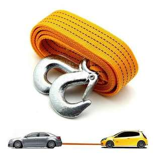 CAR VEHICLE BOAT STRAP TOWING ROPE 3 TONS ( 10-143-06 )