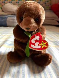 TY The Beanie Babies Collection - Original - Seaweed October 1996
